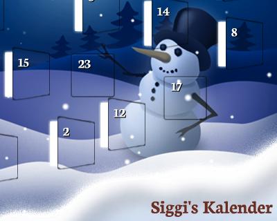 Siggi's Adventskalender 2014